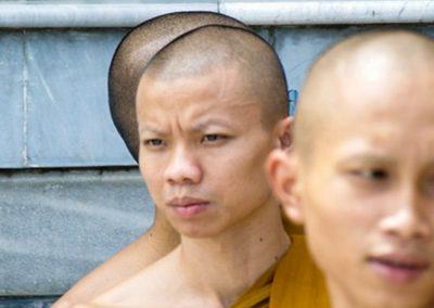 Thai Momks at Royal Palace, Bangkok