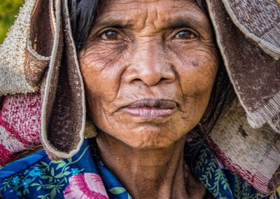 Old Woman, North Bali