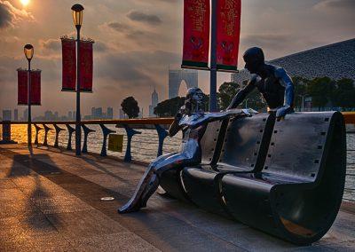 Promendae art at Jinji Lake, Suzhou