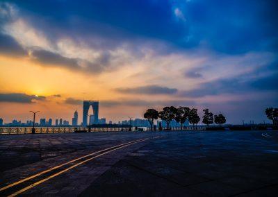 Promenade at JinJi Lake, Suzhou