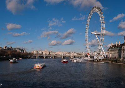 London Eye Panorama