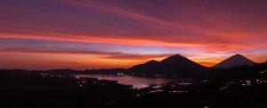 Mount Batur at dawn, Bali