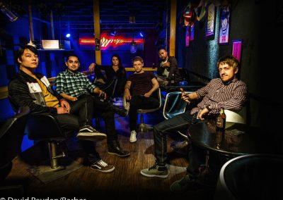 Pyroglyphix band shoot